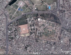 Lahore Satellite Map
